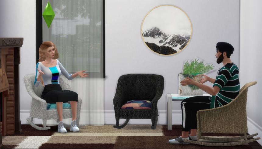 sims 4 rocking chair