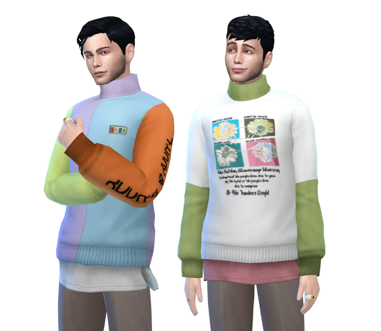 clothing mods sweater male
