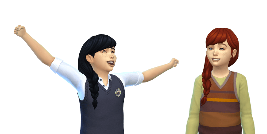 maxis match hairstyle