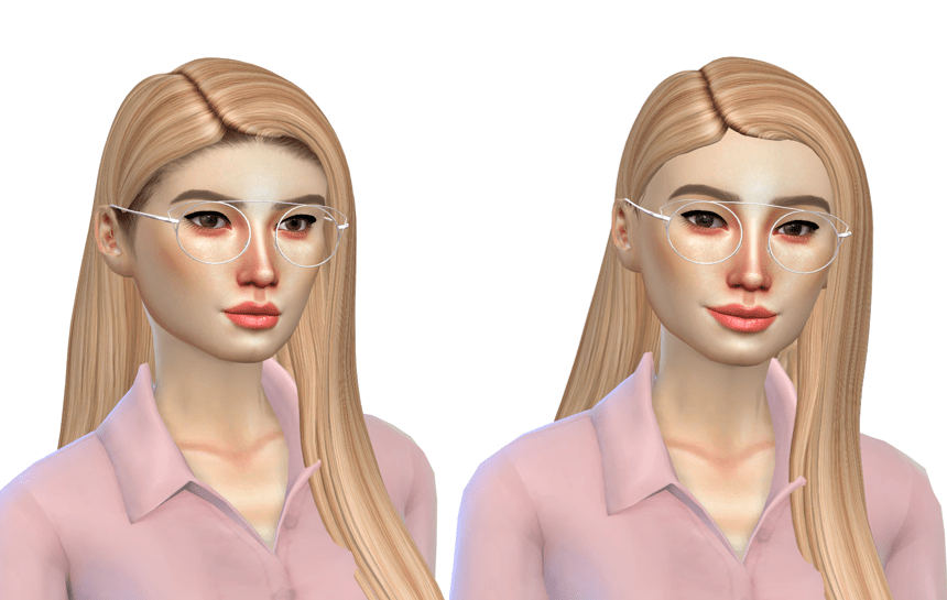 ultimate hairline for sims 4