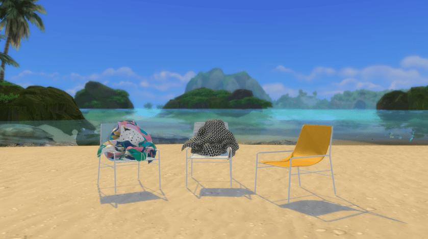 Beach custom content