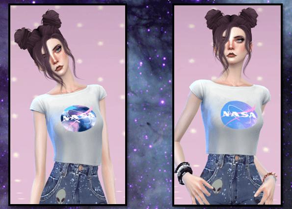 NASA Shirts Custom Content