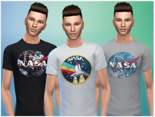 NASA Shirts CC
