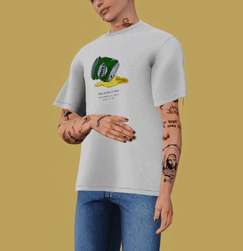baggy shirts custom content